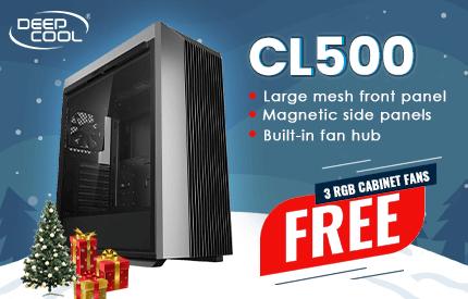 Deepcool CL500 Cabinet (Black)
