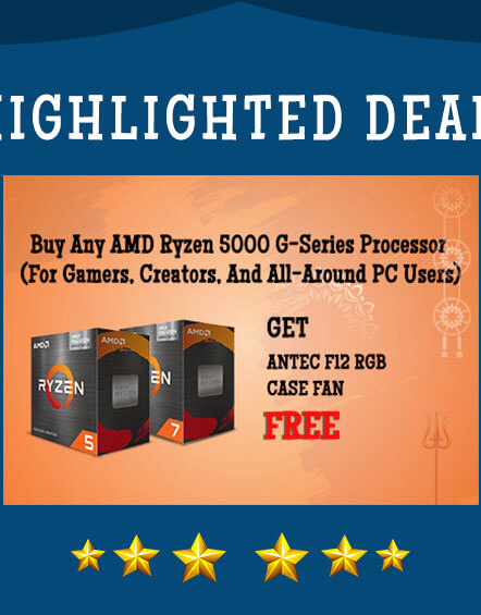 AMD 5000 G Series Processor Offer