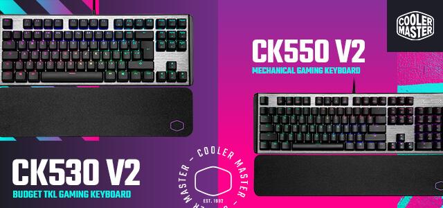 Cooler Master CK550 V2 Mechanical Gaming Keyboard