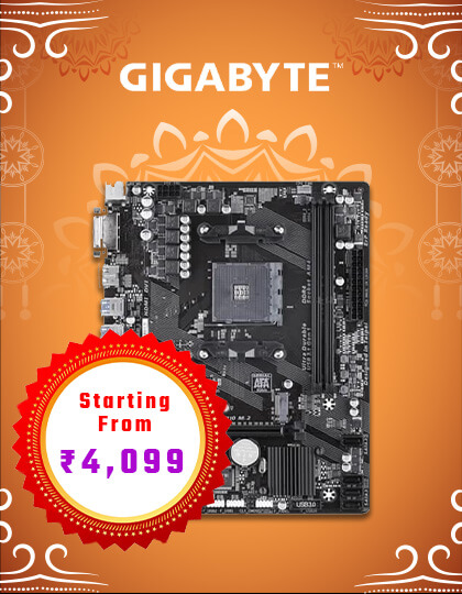 Gigabyte Motherboard at Best Price in India