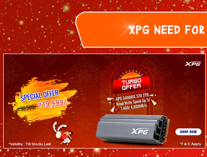 Adata XPG Gammix S70 2TB M.2 NVMe Gen4 Internal SSD