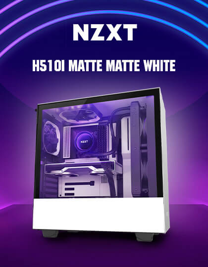 Nzxt H510i (Matte White) at Best Price In India