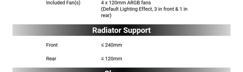 Antec NX210 ARGB MID TOWER CABINET