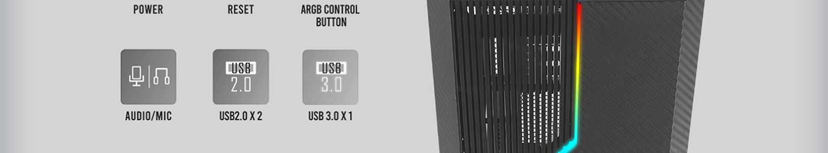 Antec NX230 ARGB (Black) 14
