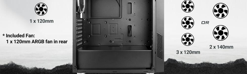Antec NX300 ARGB (Black) 15