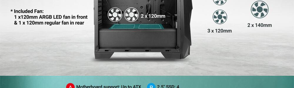 Antec NX310 ARGB 15