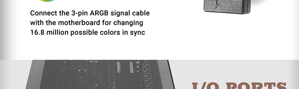 Antec NX500 ARGB (Black) 11