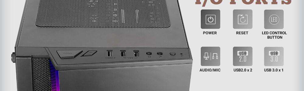 Antec NX500 ARGB (Black) 12
