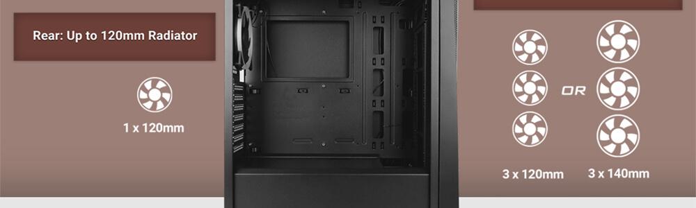 Antec NX500 ARGB (Black) 14