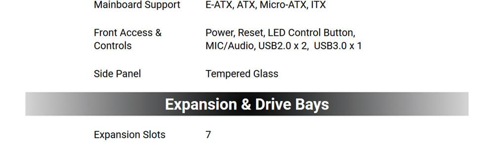 Antec NX500 ARGB (Black) 20