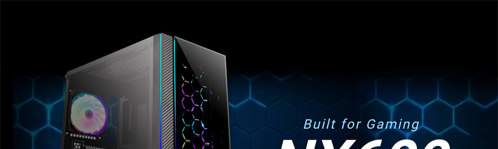 Antec NX600 ARGB (Black) 7