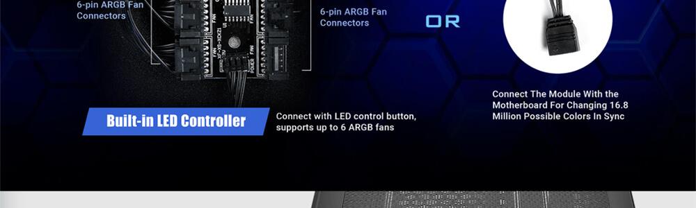 Antec NX600 ARGB (Black) 12