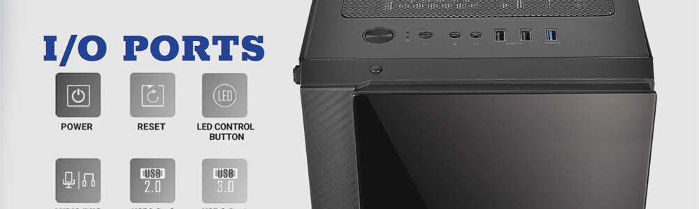 Antec NX600 ARGB (Black) 13