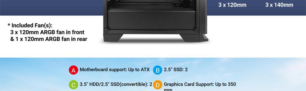Antec NX600 ARGB (Black) 16