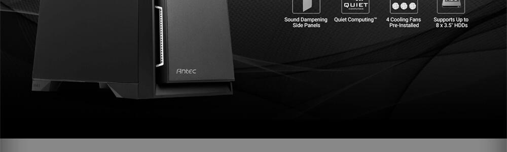 Antec P101 Silent (Black) 8