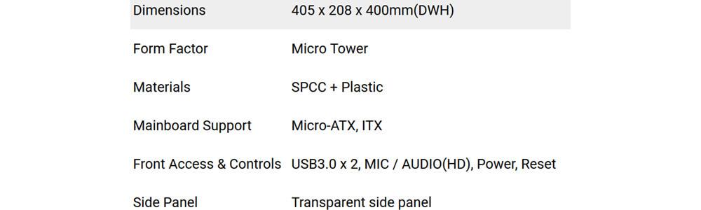 Antec VSK10 Window (Black) 26