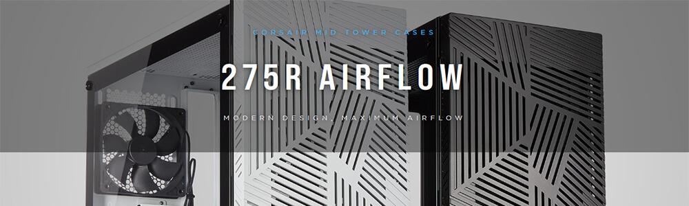 Corsair 275R Airflow (White) 6