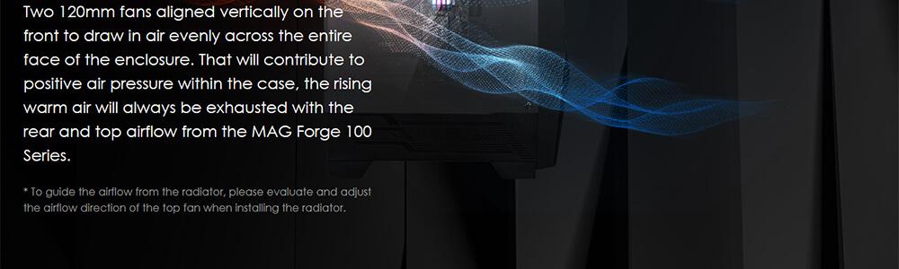 MSI MAG FORGE 100R (Black) 6