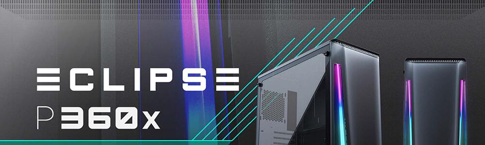 Phanteks Eclipse P360X DRGB (Black) 6