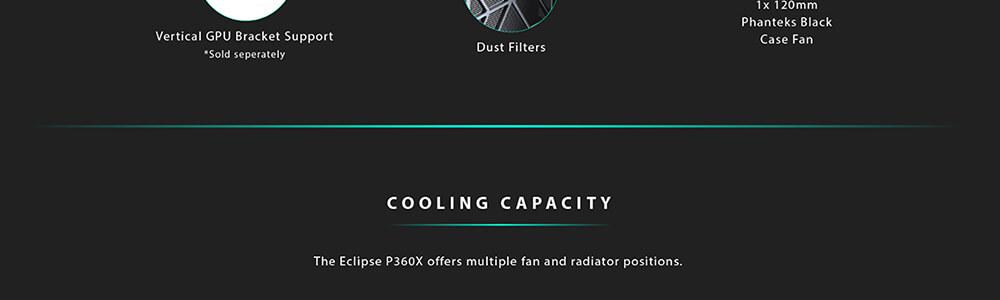 Phanteks Eclipse P360X DRGB (Black) 18