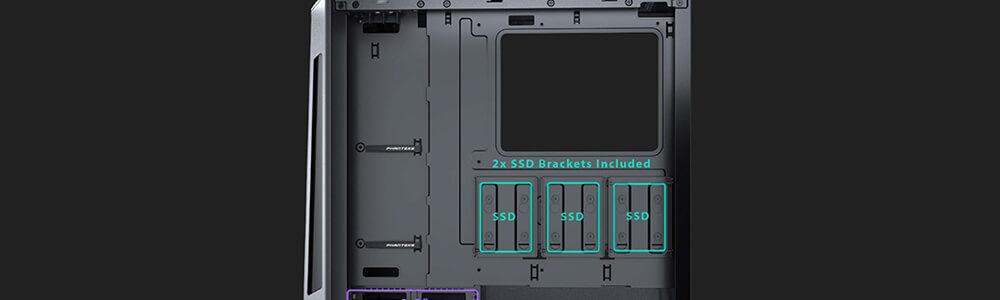 Phanteks Eclipse P360X DRGB (Black) 24