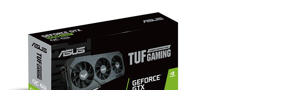 Asus GTX 1660 Super Tuf Gaming X3 OC 6GB 7
