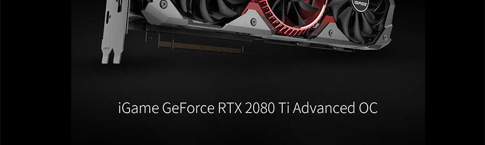 Colorful iGame RTX 2080 Ti Advanced OC V RGB 11GB 6
