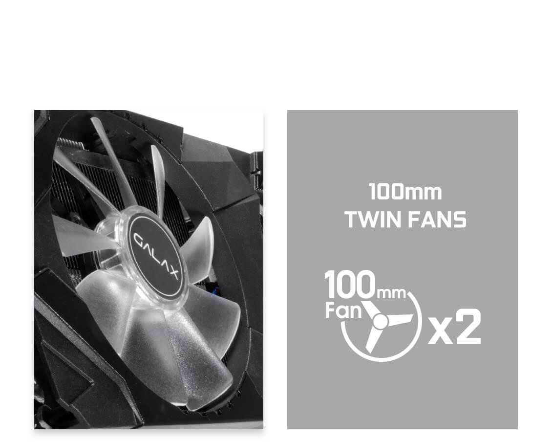 Galax RTX 2070 EX OC 8GB Graphics Card 6