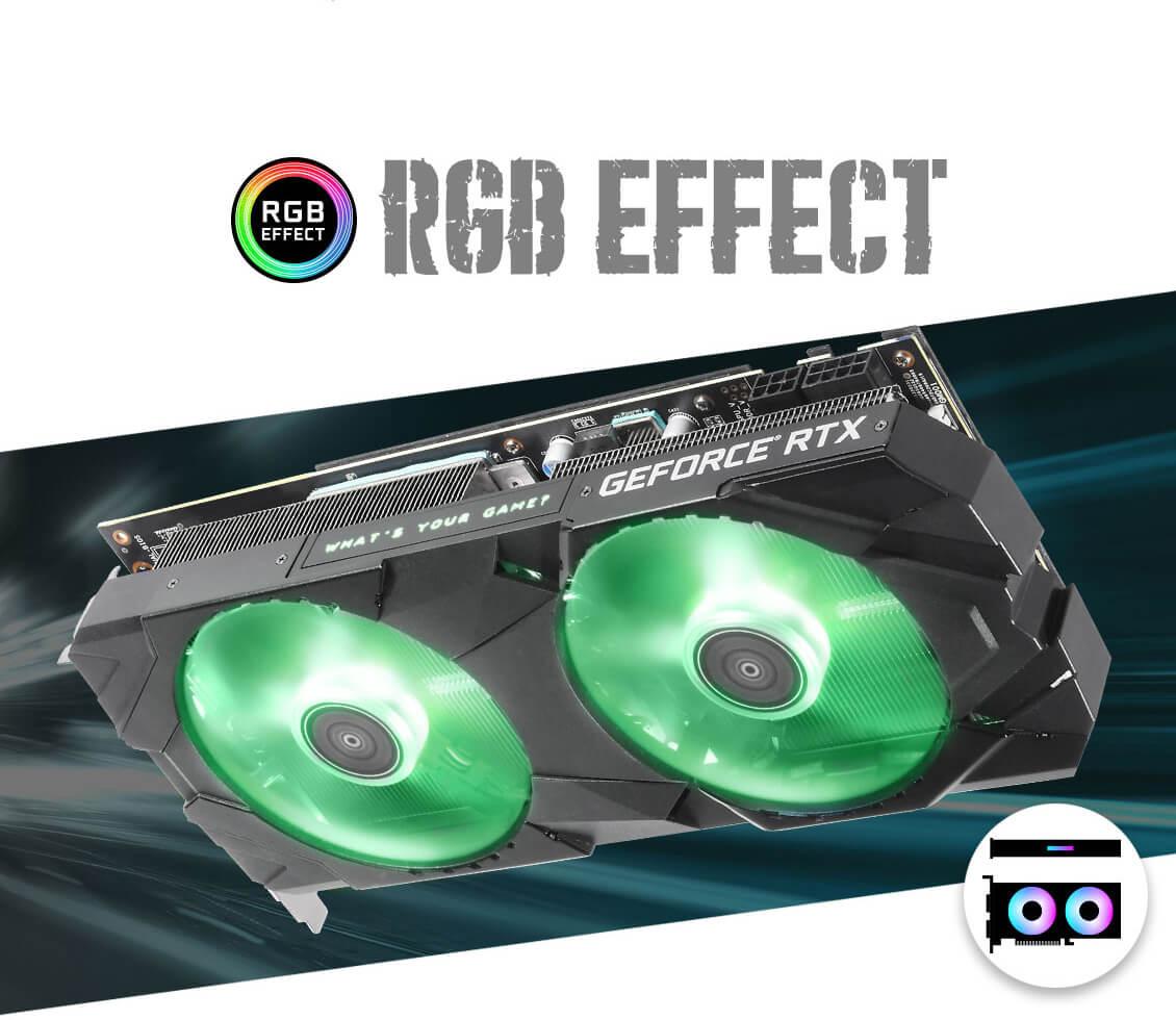 Galax RTX 2070 EX OC 8GB Graphics Card 9