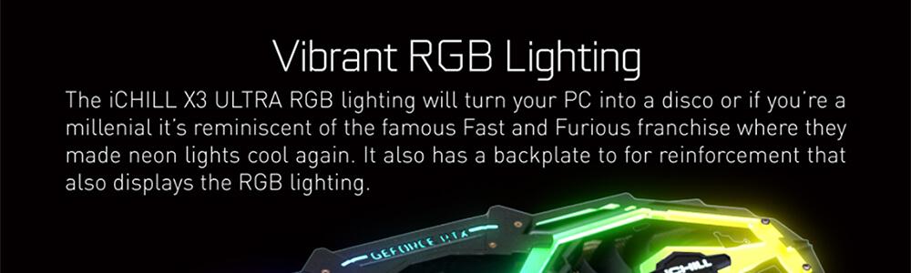 Inno3d RTX 2080 Super Ichill X3 Ultra RGB 8GB 9