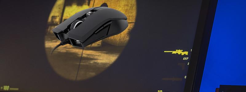 front shot of the MasterKeys Pro L RGB