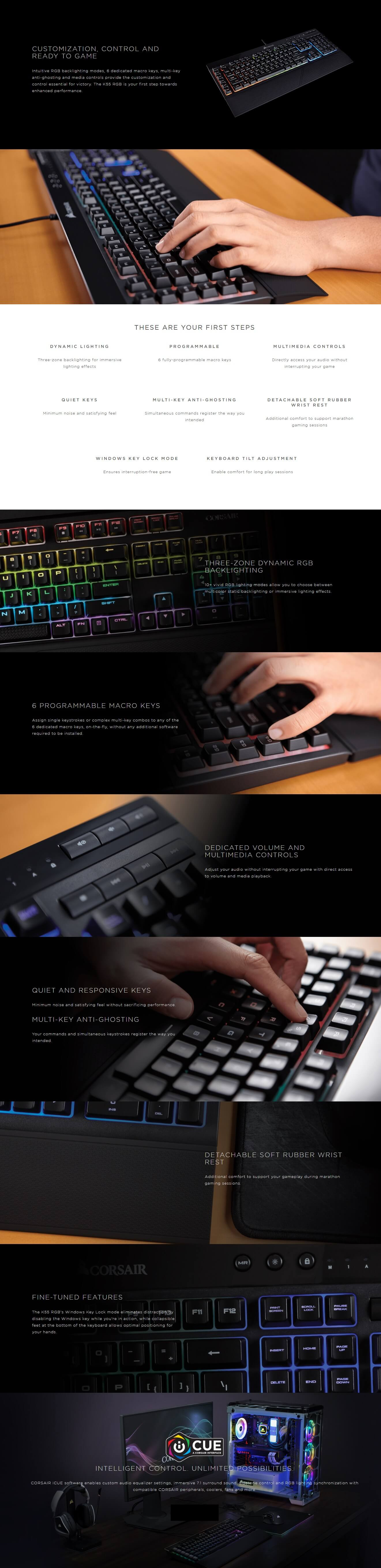 Corsair K55 Rgb How To Change Color