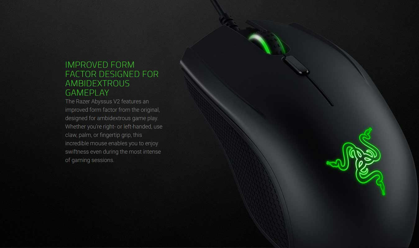 IMPROVED FORM FACTOR DESIGNED FOR AMBIDEXTROUS GAMEPLAY