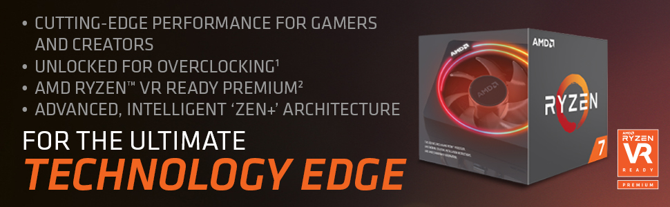 AMD RYZEN 7 2700X 2nd Generation Desktop Processor - With Wraith Prism  Cooling Solution RGB LED (8 Core, Up To 4 3 GHz, AM4 Socket, 20MB Cache)