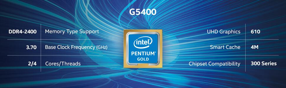 Intel Pentium Gold G5400 6
