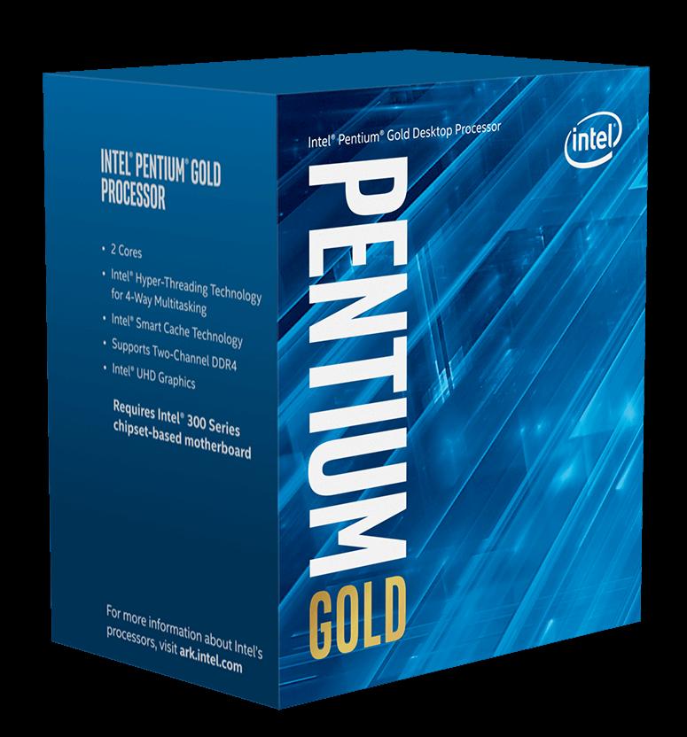 Intel Pentium Gold G5400 1